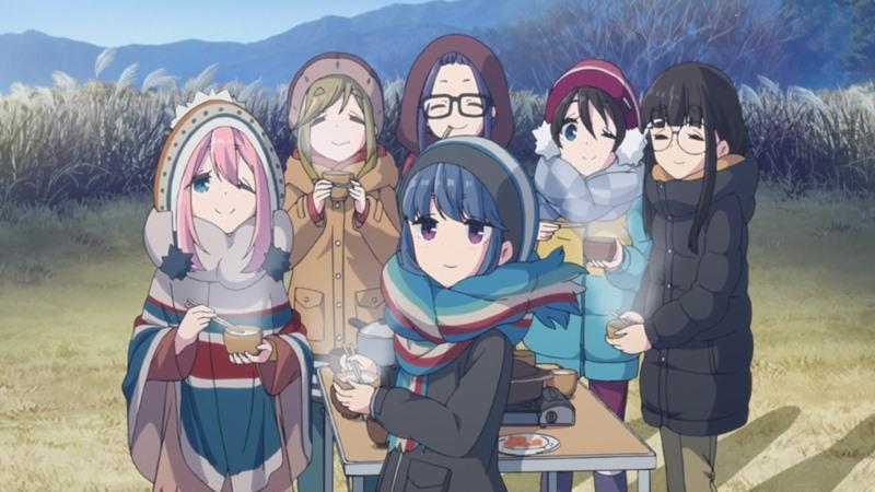 『ゆるキャン△』は女子高生の緩いキャンプを観るだけで心癒される不思議なアニメ!